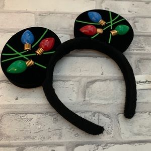 Christmas Light Mickey Ears Disney Parks